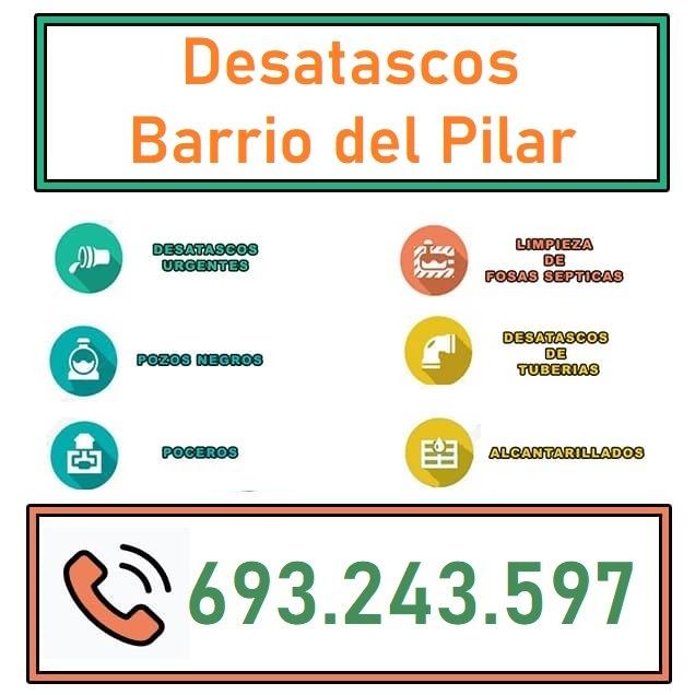 Desatascos Barrio del Pilar